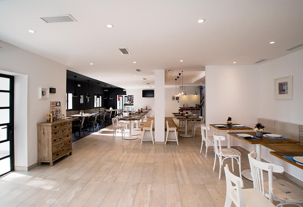 Adecuación restaurante Acuarela